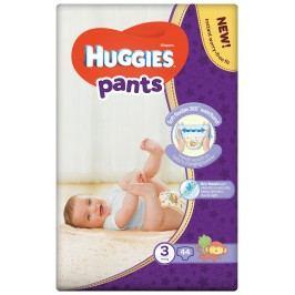 HUGGIES Pants Jumbo 3 plenkové kalhotky 6-11 kg 44 ks