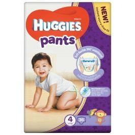 HUGGIES Pants Jumbo 4 plenkové kalhotky 9-14 kg 36 ks