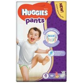 HUGGIES Pants Jumbo 6 plenkové kalhotky 15-25 kg 30 ks