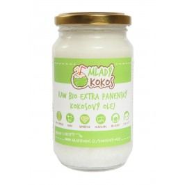 Mladý kokos BIO RAW extra panenský kokosový olej 30ml