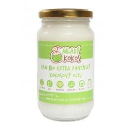 Mladý kokos BIO RAW extra panenský kokosový olej 375ml