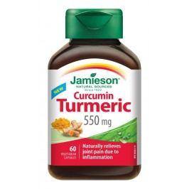 Jamieson Kurkumín 550 mg 60 kapslí