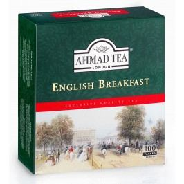 Ahmad Tea English Breakfast porcovaný čaj 100 x 2 g