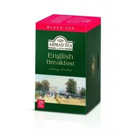Ahmad Tea English Breakfast porcovaný čaj 20 x 2 g