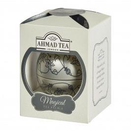 Ahmad Tea Vánoční ozdoba Earl Grey sypaný čaj 30 g stříbrná
