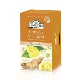 Ahmad Tea Citron & Zázvor porcovaný čaj 20 x 2 g