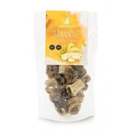 Allnature Sušené banány BIO RAW plátky 100 g