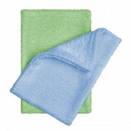 T-tomi Koupací žínky - rukavice modrá + zelená