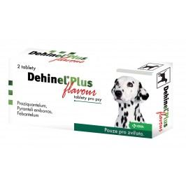 Dehinel Plus Flavour tablety pro psy 2 tablety