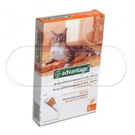 Advantage Advantage pro kočky spot-on 4x0.4 ml