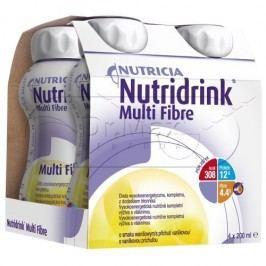 Nutridrink Multi Fibre vanilka 4x200 ml
