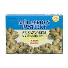 Dr.Müller Müllerovy pastilky se zázvorem 24 pastilek