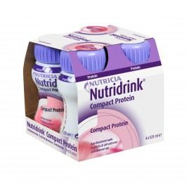 Nutridrink Compact Protein jahoda 4x125 ml