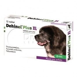 Dehinel Plus XL tablety pro psy 12 tablet