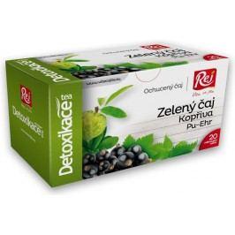 Detoxikace Zelený čaj+kopřiva+černý rybíz porcovaný čaj 20 x 1,5 g