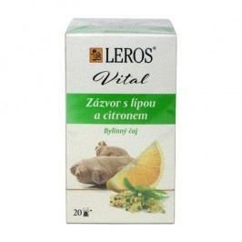 Leros VITAL Zázvor s lípou a citronem porcovaný čaj 20 x 2 g