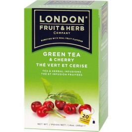 LFH Zelený s višní porcovaný čaj 20 x 2 g