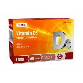 Dr.Max Vitamin D3 1000 I.U. 60 kapslí