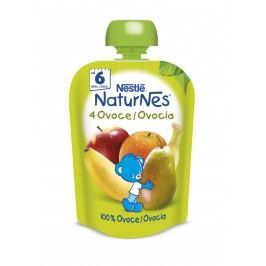 Nestlé Naturnes 4 Ovoce kapsička 90 g