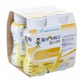 RESOURCE® Junior Fibre vanilkový 4x200 ml