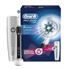 Oral-B PRO 2500 Black Cross Action elektrický zubní kartáček