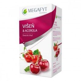 Megafyt Višeň a acerola ovocný čaj porcovaný 20x2 g