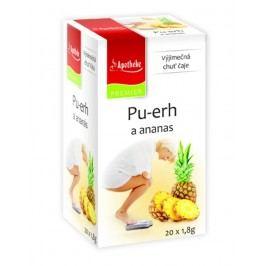 Apotheke Pu-erh a ananas čaj nálevové sáčky 20x 1,8 g