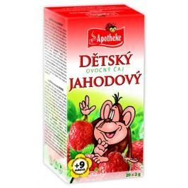 Apotheke Dětský ovocný čaj jahodový nálevové sáčky 20x 2 g