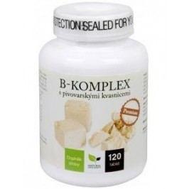 B-komplex s pivovarskými kvasnicemi 120 tablet
