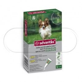 Advantix Advantix pro psy  do 4kg spot-on 1x0.4 ml