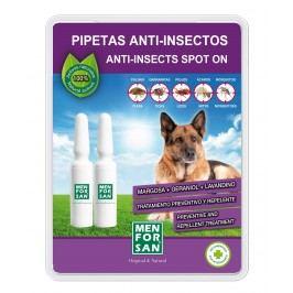 Menforsan Antiparazitní pipety klíšťata blechy komáři 2x1,5ml