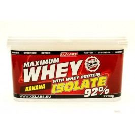 Xxlabs Maximum Whey Protein Isolate 92 banán 2200 g