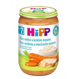 Hipp JUNIOR MENU BIO Rýže s karotkou a krůtím masem 220 g