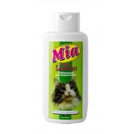 Mia bylinný šampon s antiparazitní přísadou pro všechna plemena koček 250ml