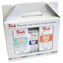 Trudi Baby Care dárkový balíček (toaletní voda, koupelové mléko a šampon)