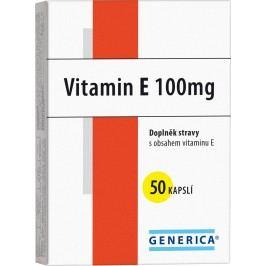 Generica Vitamin E 100 I.U. 50 kapslí