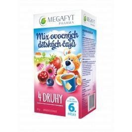 Megafyt MIX ovocných dětských čajů 4 druhy 20x2 g