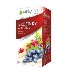 Megafyt Brusinky a borůvky o 2x2 g