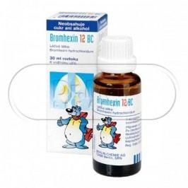 Bromhexin 12 BC kapky 30ml