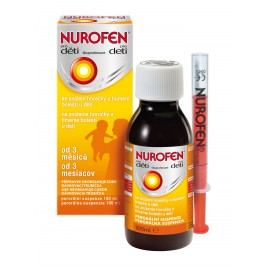 Nurofen Pro děti pomeranč suspenze 100 ml