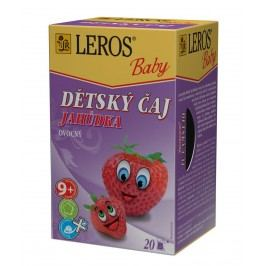 Leros Dětský čaj Jahůdka 20x2 g