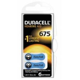 Duracell DA675 Easy Tab baterie do naslouchadel 6 ks