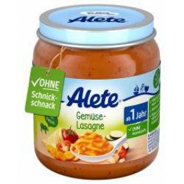 Alete BIO Příkrm těstoviny + šunka + rajčatová omáčka 12m+ 250 g