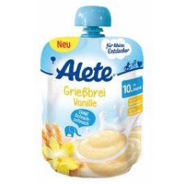 Alete Kaše krupicová s vanilkou 10m+ kapsička 85 g