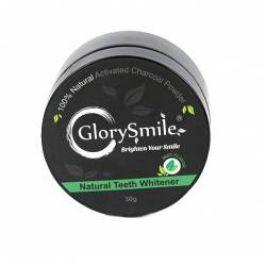 Glory smile Charcoal Mentol bělicí zubní pudr 30 g