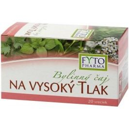 Fytopharma Bylinný čaj na vysoký tlak 20x1.25g
