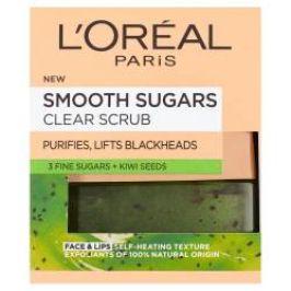 Loréal paris Jemný čisticí cukrový scrub maska 50 ml