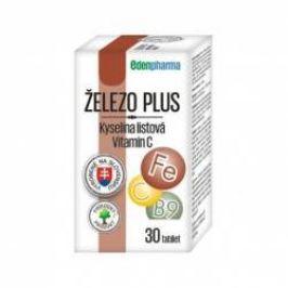 Edenpharma Železo plus 30 tablet