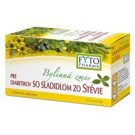 Fytopharma Bylinná směs pro diabetiky se sladidlem ze stévie 20x1.5g