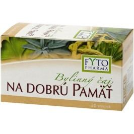 Fytopharma Bylinný čaj na dobrou paměť 20x1,25 g